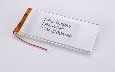 4mm Li-Poly Battery LP404798 3.7V 2200mAh 8.14Wh with PCM and wires 50mm and JST PHR-2