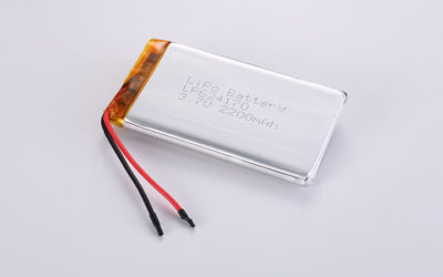 Li-Po Batteries LP624170 3.7V 2200mAh 8.14Wh with protection circuit and wires 50mm