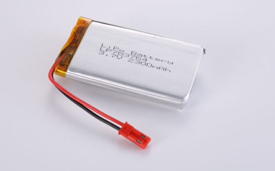 Best Li-Po Battery LP783764 2300mAh with PCM and wires 50mm and JST SYR-02T/02TY