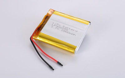 Hot LiPo Battery LP905055 2800mAh with protection circuit and wires 35mm
