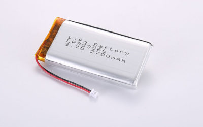 Li Po Battery LP953566 2700mAh with protection circuit and wires 50mm and JST PHR-2