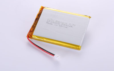 Li-Po Battery LP105878 3.7V 5400mAh 19.98Wh with protection circuit & wires 50mm