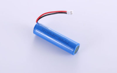 Li-ion Battery LP18650A+ 3.7V 3500mAh 12.95Wh with protection circuit and wires 50mm and JST XHP-2