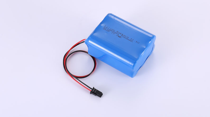 Li-ion Battery LP18650A+ 3S2P 11.1V 7000mAh 77.7Wh with protection circuit and wires 200mm and Molex 45645-0200