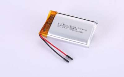 LiPo Battery LP902540 3.7V 900mAh 3.33Wh with protection circuit & wires 30mm