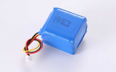 LiPo Battery LP103740 3P 3.7V 4500mAh 16.65Wh with protection circuit and wires 50mm and 10K NTC and JST PHR-3