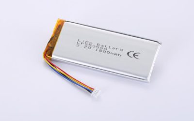 LiPo Battery LP553580 3.7V 1800mAh 6.66Wh with protection circuit and wires 50mm and Molex 51021-0400