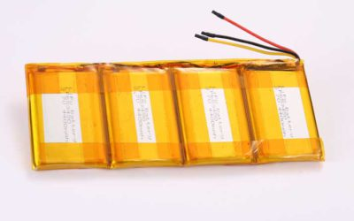 LiPo Battery LP653450 4P 3.7V 4400mAh 16.28Wh with protection circuit and wires 50mm and 10K NTC