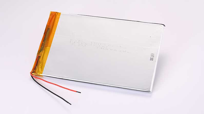 LiPo Battery LP98C0200 3.7V 34000mAh 125.8Wh with protection circuit and wires 100mm