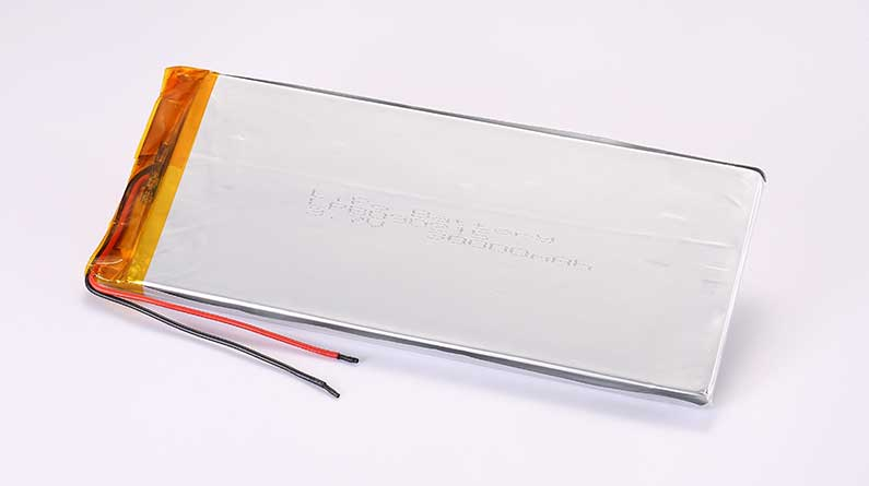 LiPo Battery LPB090215 3.7V 30000mAh 111Wh without protection circuit, but with wires 30mm